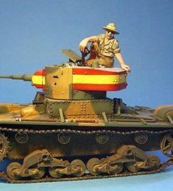 T-26 Light Tank, Tank Commander