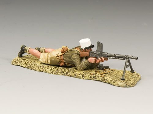Legionnaire Lying Machine Gun