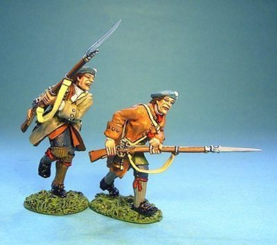 Lowland Infantry Attacking with Musket #1