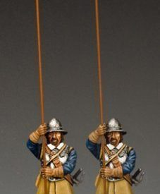 Two Standing Pikemen (Royalist)