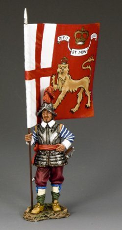 The King?s Lifeguard Regt. Flagbearer
