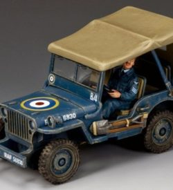 The Royal Air Force Jeep