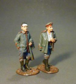 French Infantry 1917-1918, 2 German prisoners