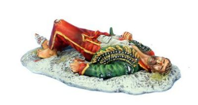 Dead French Hussar