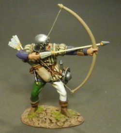 Lancastrian Archer, The Battle of Bosworth Field, 1485